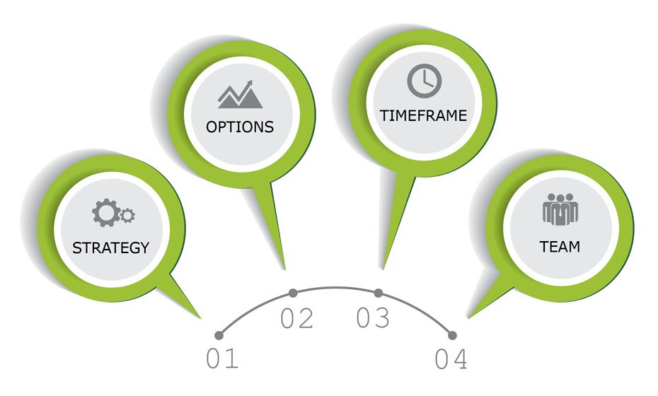 HIE Challenges: Options, Timeframe, Team, and Strategy