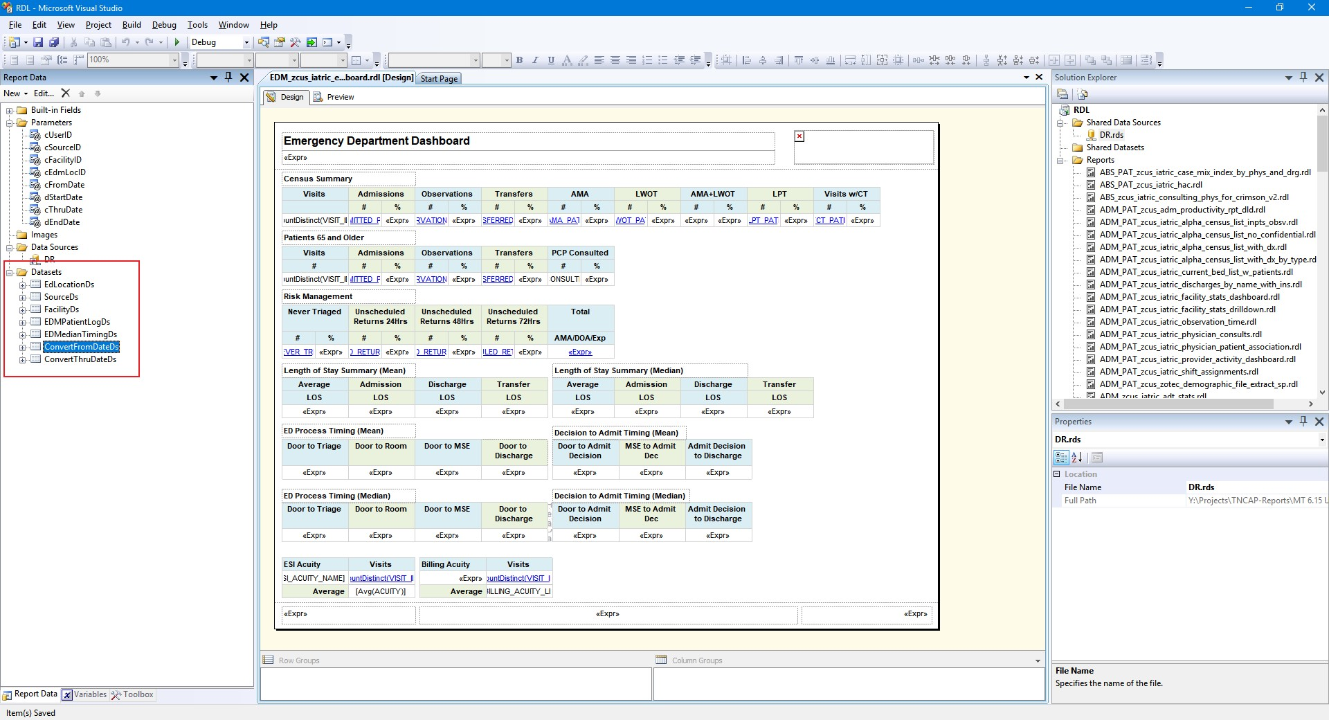 SSRS Tip: Control the Execution Order of SSRS Datasets